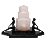 Tiered Fountain Nymphs Lamp