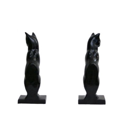 Sitting Cats Bookends - SA-195